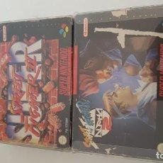 Videojuegos y Consolas: STREET FIGHTER ALPHA 2 Y SUPER STREET FIGHTER 2 SUPER NINTENDO. Lote 152290182