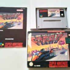 Videojuegos y Consolas: F-ZERO PARA SUPER NINTENDO!!. Lote 152410994