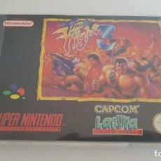 Videojuegos y Consolas: FINAL FIGHT 3 PAL SUPER NINTENDO. Lote 152425662