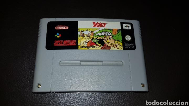JUEGO SUPER NINTENDO ASTERIX RETROVINTAGEJUGUETES SUPER NINTENDO CARTUCHO (Juguetes - Videojuegos y Consolas - Nintendo - SuperNintendo)