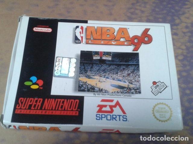 Videojuegos y Consolas: JUEGO SUPER NINTENDO NBA LIVE 96 - NEXT GENERATION NBA DE 1995 - EM SPORTS ( SNSP P A6BP ) COMPLETO - Foto 2 - 97381711