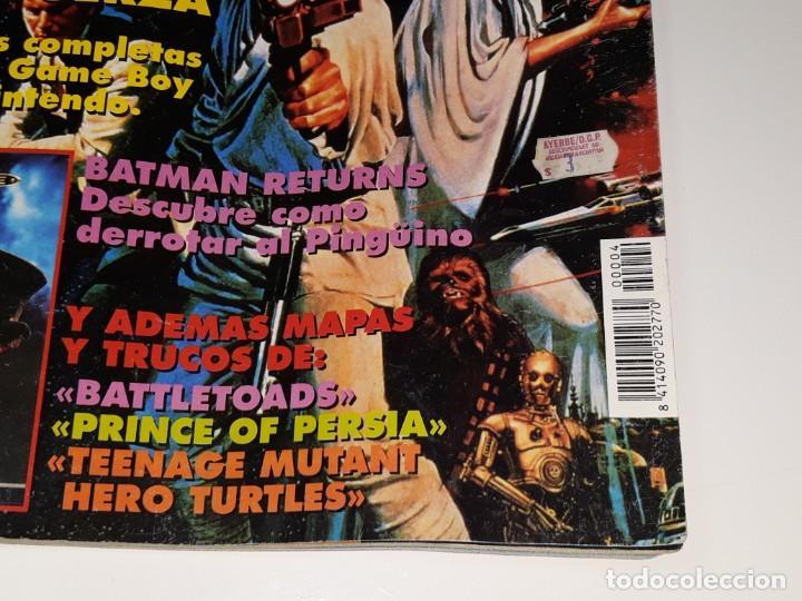 Videojuegos y Consolas: SUPER CONSOLAS : ANTIGUA REVISTA DE VIDEOJUEGOS NES GAME BOY SUPER NINTENDO Nº 4 AÑOS 90 STAR WARS - Foto 2 - 154745782