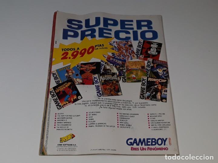 Videojuegos y Consolas: SUPER CONSOLAS : ANTIGUA REVISTA DE VIDEOJUEGOS NES GAME BOY SUPER NINTENDO Nº 4 AÑOS 90 STAR WARS - Foto 5 - 154745782