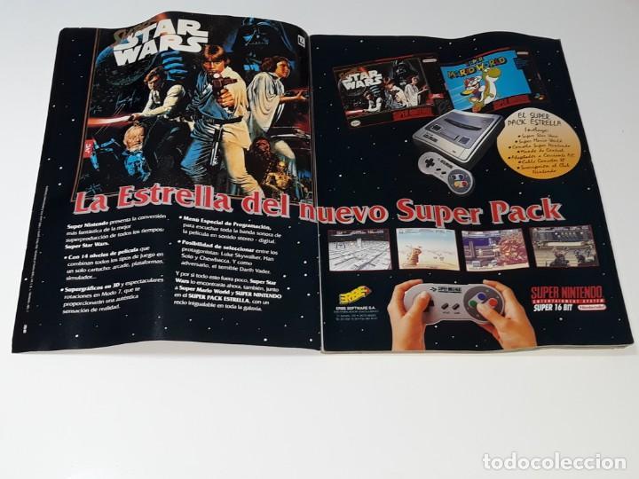 Videojuegos y Consolas: SUPER CONSOLAS : ANTIGUA REVISTA DE VIDEOJUEGOS NES GAME BOY SUPER NINTENDO Nº 4 AÑOS 90 STAR WARS - Foto 7 - 154745782