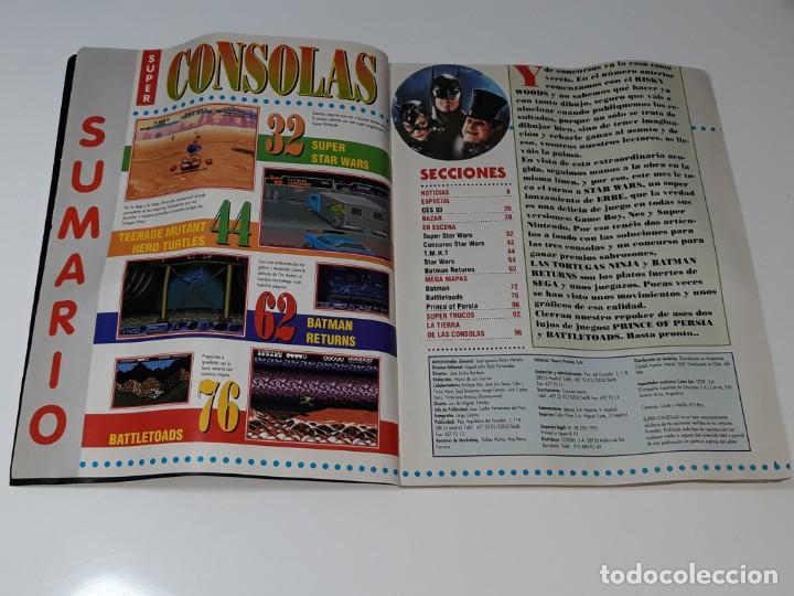 Videojuegos y Consolas: SUPER CONSOLAS : ANTIGUA REVISTA DE VIDEOJUEGOS NES GAME BOY SUPER NINTENDO Nº 4 AÑOS 90 STAR WARS - Foto 8 - 154745782