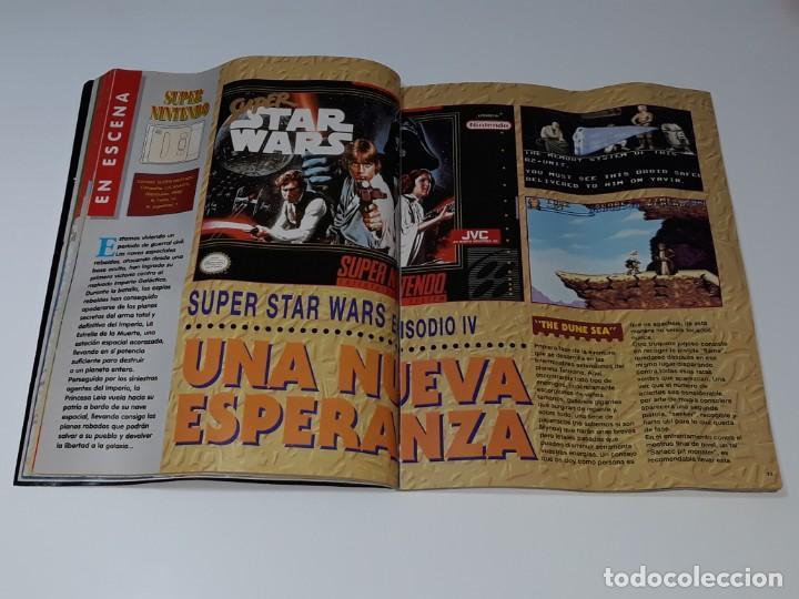 Videojuegos y Consolas: SUPER CONSOLAS : ANTIGUA REVISTA DE VIDEOJUEGOS NES GAME BOY SUPER NINTENDO Nº 4 AÑOS 90 STAR WARS - Foto 13 - 154745782