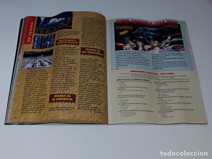 Videojuegos y Consolas: SUPER CONSOLAS : ANTIGUA REVISTA DE VIDEOJUEGOS NES GAME BOY SUPER NINTENDO Nº 4 AÑOS 90 STAR WARS - Foto 15 - 154745782