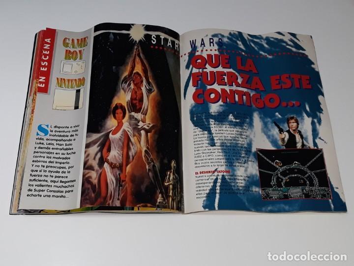 Videojuegos y Consolas: SUPER CONSOLAS : ANTIGUA REVISTA DE VIDEOJUEGOS NES GAME BOY SUPER NINTENDO Nº 4 AÑOS 90 STAR WARS - Foto 18 - 154745782