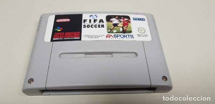J- FIFA INTERNATIONAL SOCCER SUPER NINTENDO VERSION PAL SNSP-04-UKV (2) (Juguetes - Videojuegos y Consolas - Nintendo - SuperNintendo)
