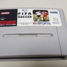 Videojuegos y Consolas: J- FIFA INTERNATIONAL SOCCER SUPER NINTENDO VERSION PAL SNSP-04-UKV (2). Lote 155053366