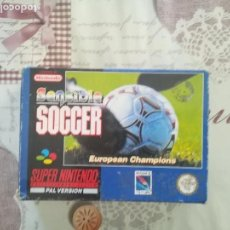 Videojuegos y Consolas: SENSIBLE SOCCER SUPER NINTENDO SNES. Lote 155062114