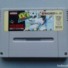 Videojuegos y Consolas: JUEGO SUPER NINTENDO SNES KICK OFF PAL UKV SOLO CARTUCHO R8810. Lote 155456718