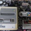 Videojuegos y Consolas: SUPER NINTENDO, CABLES, MANDO Y JURASSIC PARK. Lote 160168744