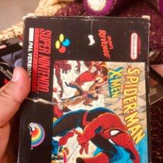 Videojuegos y Consolas: CAJA SNES SPIDERMAN-MAN. Lote 160489554