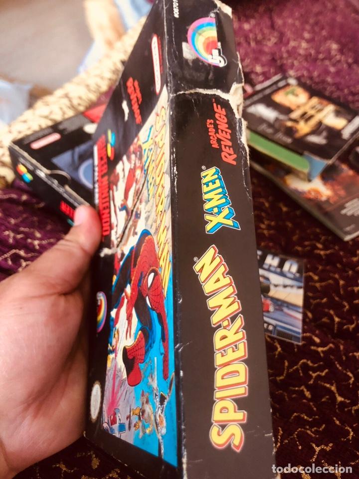 Videojuegos y Consolas: Caja snes Spiderman-man - Foto 2 - 160489554