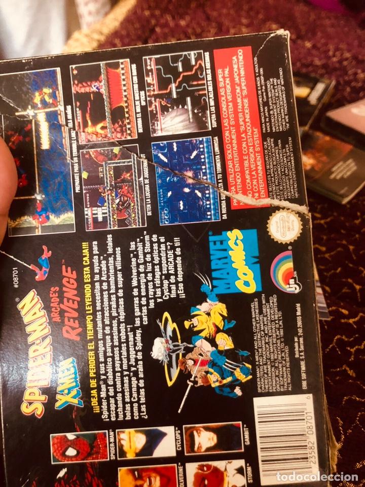 Videojuegos y Consolas: Caja snes Spiderman-man - Foto 3 - 160489554
