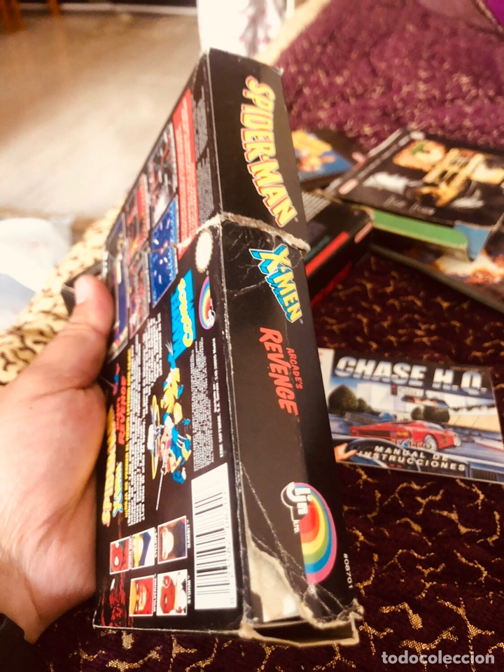 Videojuegos y Consolas: Caja snes Spiderman-man - Foto 4 - 160489554