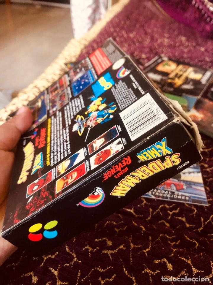 Videojuegos y Consolas: Caja snes Spiderman-man - Foto 5 - 160489554