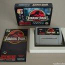 Videojuegos y Consolas: JURASSIC PARK SNES. Lote 160576326
