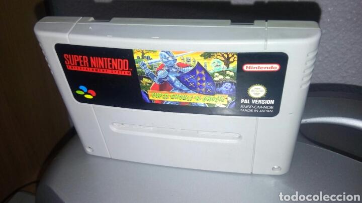 SUPER GHOULS N GHOSTS SNES NINTENDO CARTUCHO (Juguetes - Videojuegos y Consolas - Nintendo - SuperNintendo)