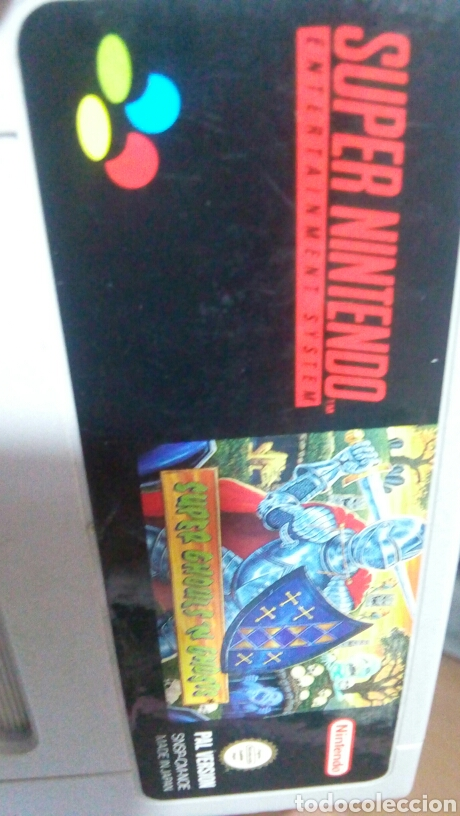 Videojuegos y Consolas: SUPER GHOULS N GHOSTS SNES NINTENDO CARTUCHO - Foto 6 - 160697333