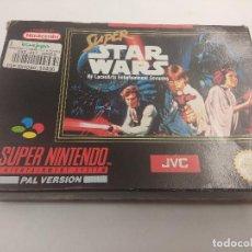 Videojuegos y Consolas: JUEGO SUPER NINTENDO/SUPER STAR WARS/COMPLETO.. Lote 160858222