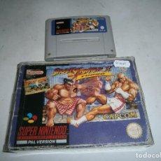 Jeux Vidéo et Consoles: STREET FIGHTER 2 TURBO SUPER NINTENDO SNES. Lote 161808838