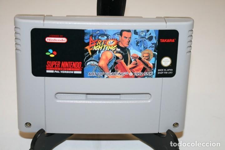 ART OF FIGHTING SUPER NINTENDO (Juguetes - Videojuegos y Consolas - Nintendo - SuperNintendo)