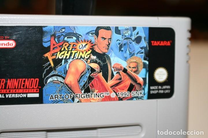 Videojuegos y Consolas: ART OF FIGHTING SUPER NINTENDO - Foto 2 - 162678158