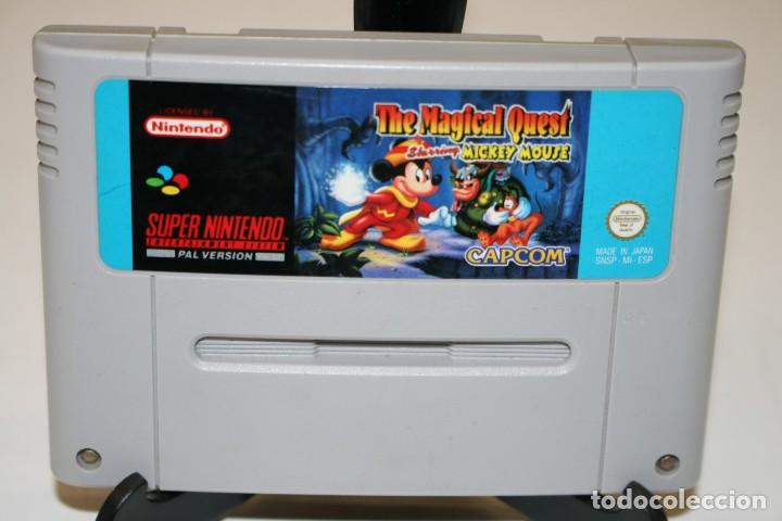 THE MAGICAL QUEST SUPER NINTENDO (Juguetes - Videojuegos y Consolas - Nintendo - SuperNintendo)