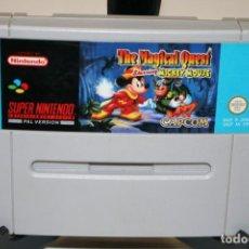 Videojuegos y Consolas: THE MAGICAL QUEST SUPER NINTENDO. Lote 162680518