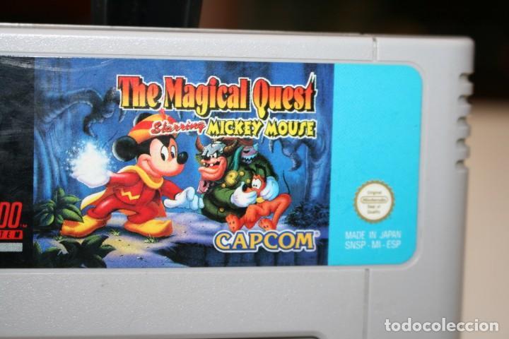 Videojuegos y Consolas: THE MAGICAL QUEST SUPER NINTENDO - Foto 2 - 162680518