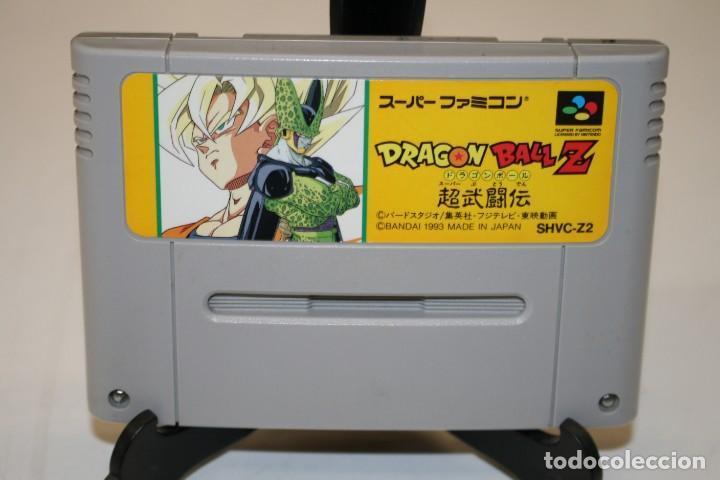 DRAGON BALL Z SUPER FAMOCOM SUPER NINTENDO (Juguetes - Videojuegos y Consolas - Nintendo - SuperNintendo)