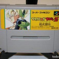 Videojuegos y Consolas: DRAGON BALL Z SUPER FAMOCOM SUPER NINTENDO. Lote 162685818