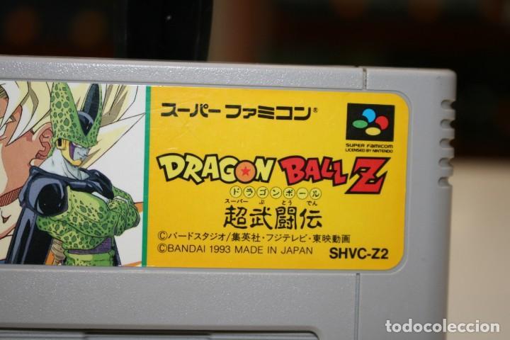 Videojuegos y Consolas: DRAGON BALL Z SUPER FAMOCOM SUPER NINTENDO - Foto 2 - 162685818