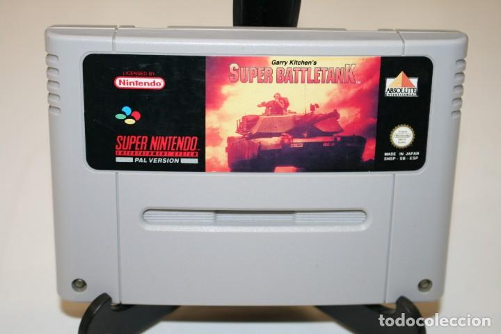 SÚPER BATTLETANK SÚPER NINTENDO (Juguetes - Videojuegos y Consolas - Nintendo - SuperNintendo)