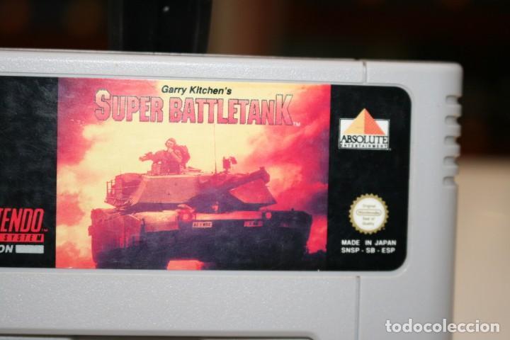Videojuegos y Consolas: Súper BattleTank Súper Nintendo - Foto 2 - 162686182
