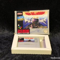 Videojuegos y Consolas: SUPER NINTENDO UN SQUADRON CAPCOM. Lote 163093966