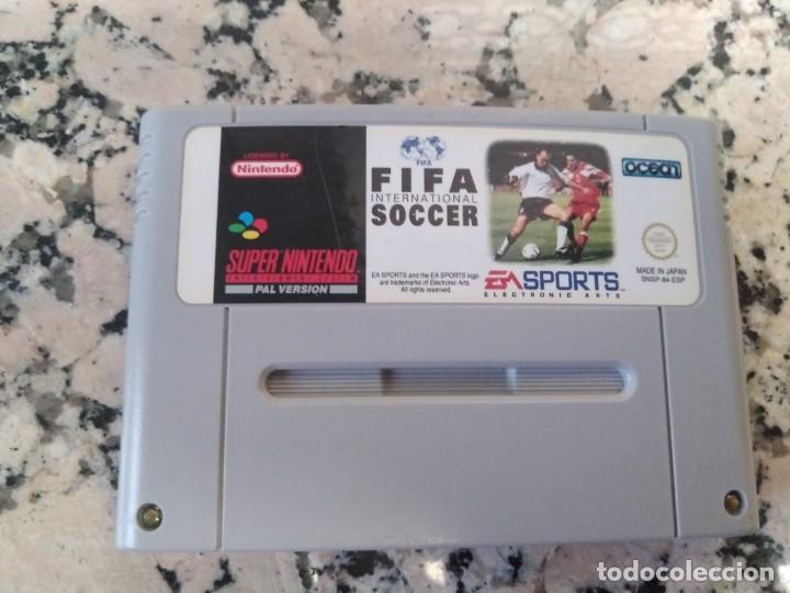 JUEGO SUPERNINTENDO FIFA SOCCER (Juguetes - Videojuegos y Consolas - Nintendo - SuperNintendo)