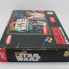 Videojuegos y Consolas: SUPER STAR WARS SUPER NINTENDO PAL. Lote 167049756
