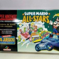 Videojuegos y Consolas: ANTIGUA CONSOLA SUPER NINTENDO EN CAJA SUPER MARIO ALL STARS. Lote 167666464