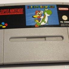 Videojuegos y Consolas: SUPER MARIO WORLD Y SUPER MARIO ALLÍ STARS. Lote 167749477