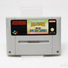 Videojuegos y Consolas: SUPER MARIO ALL STARS SUPER MARIO WORLD NINTENDO SNES PAL. Lote 168078384