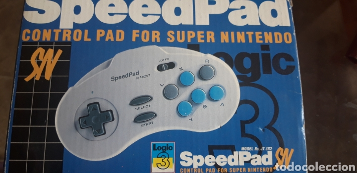 MANDO PARA SÚPER NINTENDO SPEEDPAD (Juguetes - Videojuegos y Consolas - Nintendo - SuperNintendo)