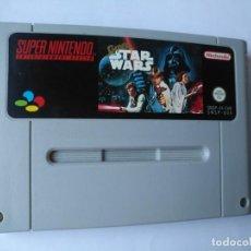 Videojuegos y Consolas: STAR WARS SUPER NINTENDO. Lote 169228248
