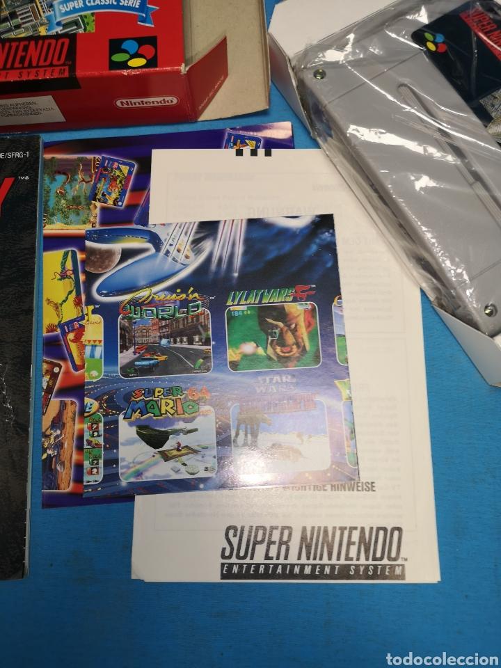 Videojuegos y Consolas: Juego Sim city para super Nintendo versión pal completo, super classic serie - Foto 5 - 171396520
