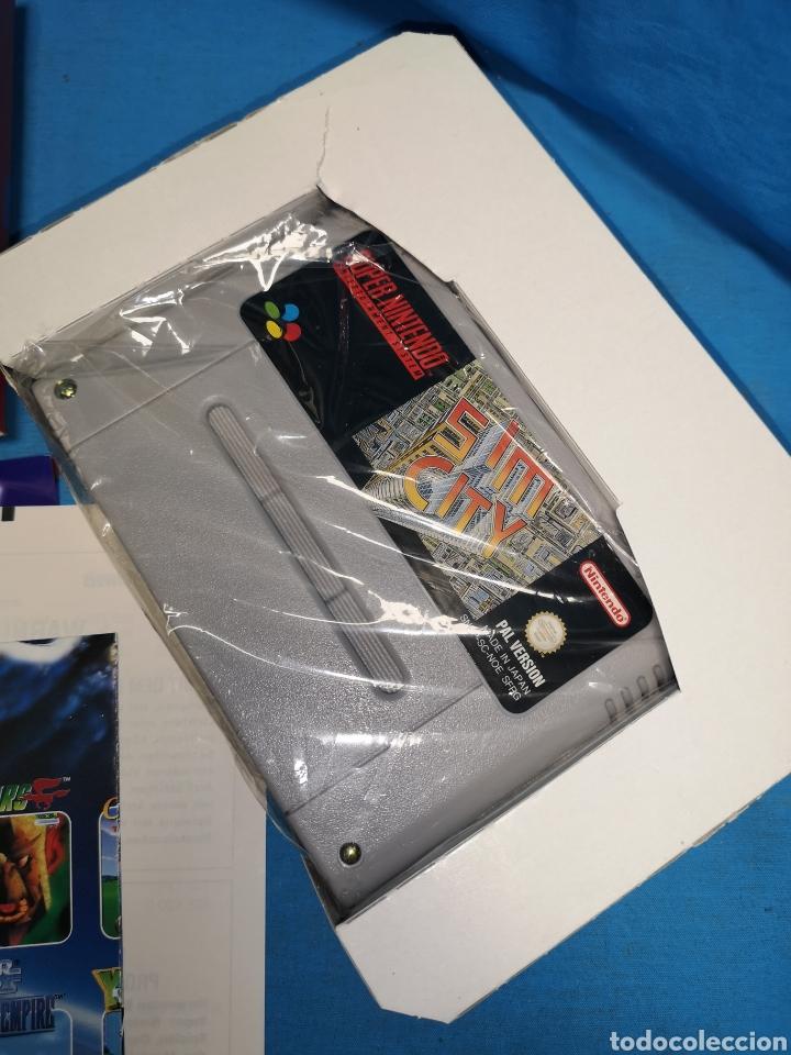 Videojuegos y Consolas: Juego Sim city para super Nintendo versión pal completo, super classic serie - Foto 6 - 171396520