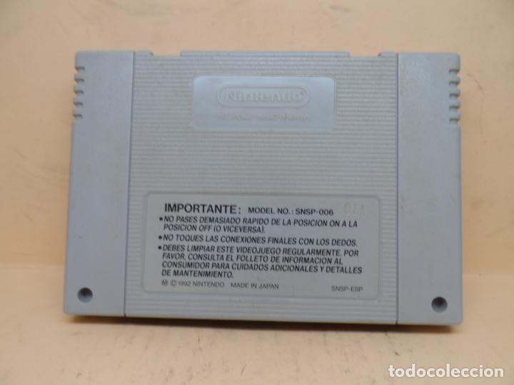 Videojuegos y Consolas: NINTENDO SNES SUPER MARIO WORLD PAL - Foto 2 - 172161714