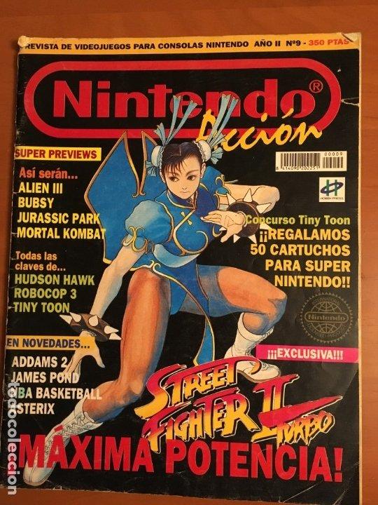 NINTENDO ACCION Nº9 (Juguetes - Videojuegos y Consolas - Nintendo - SuperNintendo)