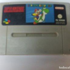 Videojuegos y Consolas: SUPER MARIO WORLD SUPER NINTENDO SNES. Lote 172942875